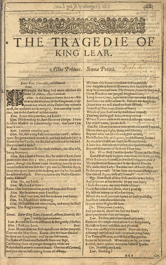 king lear gloucester quotes essay Everything you ever wanted to know about earl of gloucester in king lear, written by masters of this stuff just for you.